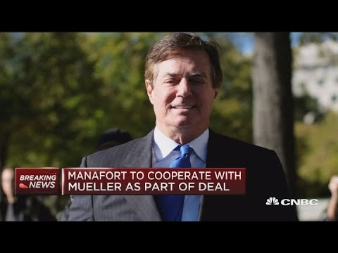 Paul Manafort to cooperate with Mueller as part of plea deal