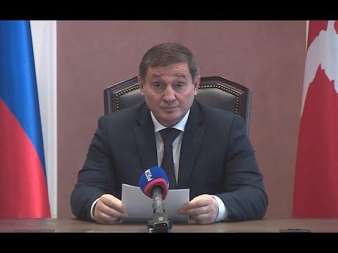Губернатор Андрей Бочаров 3 апреля обратился к жителям Волгоградской области