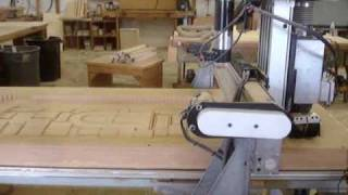 This is the process of making a 7 foot tall castle tower for a school library.  There are 6 of them total and they were all made on the CNC router.  This project looks awesome and the kids will love it.