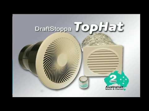 Advantec DraftStoppa TopHat - 240V