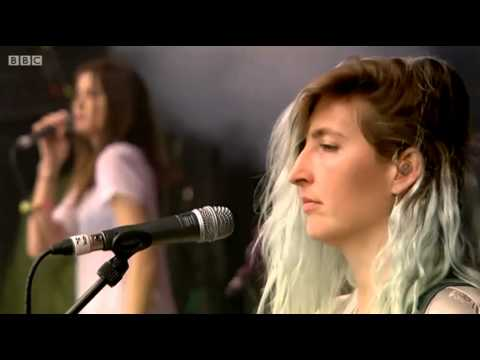 Warpaint - 'Intro' + 'Love Is To Die' (Live 2014)