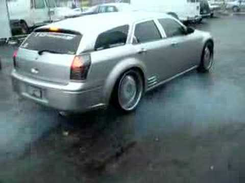 Dodge Magnum Burnout