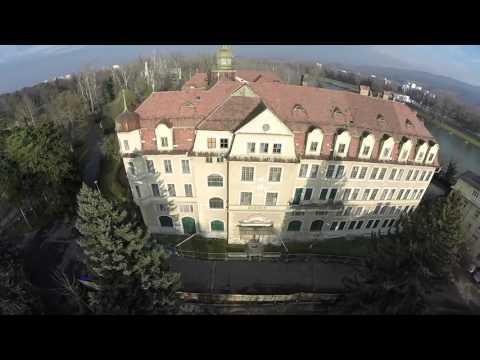 VIDEO: Budova hotela bývalého hotela Slovan pred požiarom
