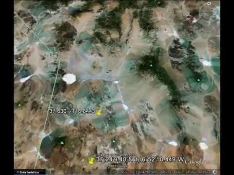 Lugares misteriosos en Google Earth y sus coordenadas