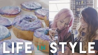 In this episode of Life in Style, Kandee Johnson learns from health food expert Olivia Ku (Love Health OK) how to make vegan galaxy desserts that are not only healthy but also delicious! Kandee Johnson: https://www.instagram.com/kandeejohnson/https://www.youtube.com/user/kandeejohnsonhttps://www.facebook.com/kandeejohnson/?fref=tsOlivia Ku: https://www.youtube.com/user/lovehealthfitnesshttps://www.instagram.com/lovehealthok/https://www.facebook.com/lovehealthok/∞ Subscribe to ICON: http://goo.gl/DptTm ∞ ICON network on the Web:http://youtube.com/ICONnetwork http://facebook.com/ICONnetwork http://twitter.com/ICONnetwork http://pinterest.com/ICONnetwork http://instagram.com/ICONnetwork http://google.com/+ICONnetwork http://icon.networkGet the ICON app for iOS and Android now: http://icon.network/s/iconappICONnetwork is a lifestyle network by Michelle Phan.Michelle PhanYouTube: http://bitly.com/MichellePhanYTFacebook: http://bit.ly/MichellePhanFBTwitter: http://bit.ly/MichelleTweets