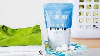 https://www.thegrommet.com/cleancultAll-natural laundry detergent pods sound too good to be true, but Cleancult has made the eco-friendly dream a reality. Their stain-fighting, brightness-boosting pods are sustainably Made in the USA. Plus they're cruelty-free, vegan, and free of harsh chemicals and dyes. With a shared mission to design goods that are effective and green, Makers Ryan Lupberger and Zachary Bedorisan have made laundry day earth friendly. The nontoxic detergent inside the pods is tough on stains but also hypoallergenic and fragrance-free (an extra gentle choice for sensitive skin). Cleancult is transparent with all of their ingredients, so you know what's at work (or, more importantly, what isn't) making your clothes clean and bright.