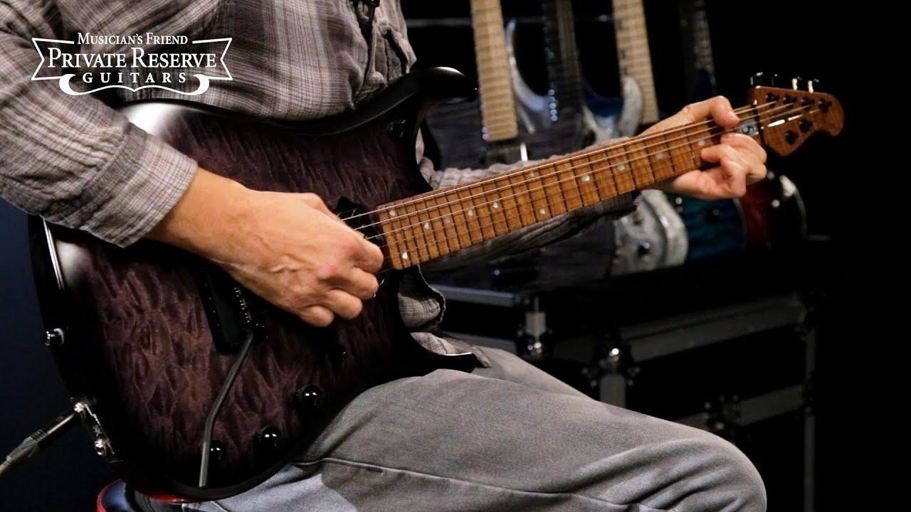 Ernie Ball Music Man Quilt Maple Top John Petrucci JP15 Electric Guitar