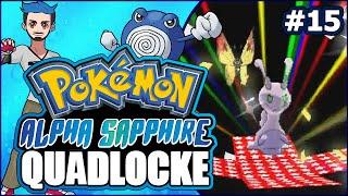 Pokémon AlphaSapphire Randomizer Quadlocke Part 15 | GOO PARTY | by Ace Trainer Liam