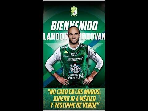 Landon Donovan Es Nuevo Jugador De Leon / Donovan Bomba De Liga Mx 2018 /