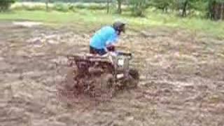 9. Polaris Sportsman 90 fun in the mud!