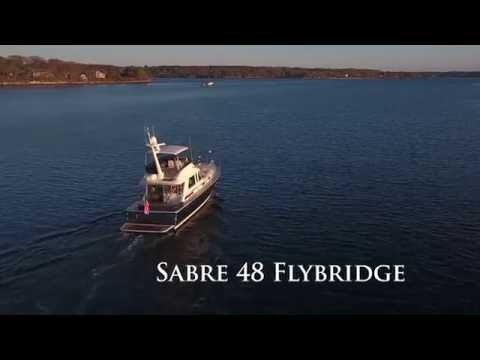 Sabre 48 Fly Bridge Sedanvideo