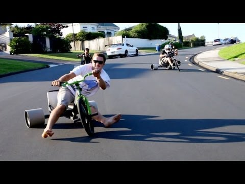 You Would Totally Love To Try This: Trike Drifting