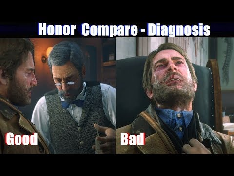Rdr2 Good Arthur Vs Bad Arthur Doctor - Red Dead Redemption 2 Ps4 Pro