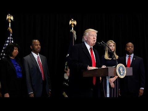 Ντόναλντ Τραμπ: Μια μέρα στο μουσείο Αφροαμερικανικής Ιστορίας