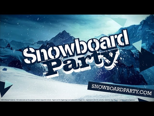 Snowboard Party Trailer - Video Game Available Now for iOS, Android & Windows Devices
