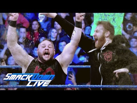 Relive the bitter rivalry between AJ Styles, Kevin Owens & Sami Zayn: SmackDown LIVE, Jan. 16, 201..