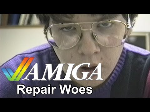 Amiga Repair Woes 1992
