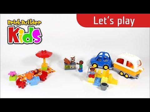 Vidéo LEGO Duplo 10602 : L'aventure au camping