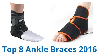CLICK FOR WIKI ▻▻ https://wiki.ezvid.com/best-ankle-braces?id=ytdesc Ankle Braces Reviewed In This Wiki: McDavid Ankle Brace Levamed Ankle Support ...