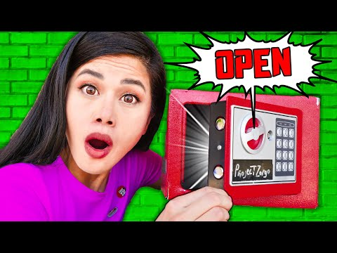 RED SAFES OPEN! Spy Ninjas Trapped in Hacker House vs Extreme Hide & Seek Challenge!