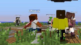 Partyspel med DualDGaming och iTalkWho del 1! - Minecraft minispel!