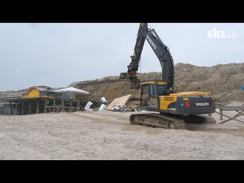 Wonnemeyer auf Sylt: Der Abriss hat begonnen