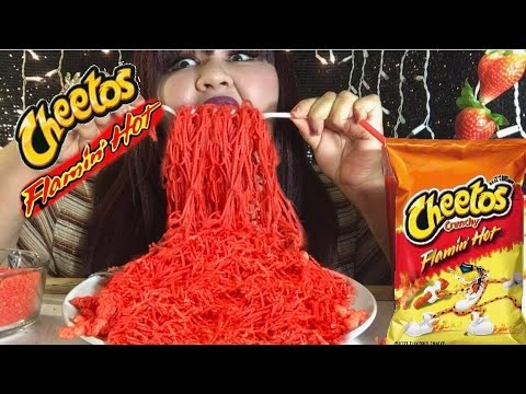 HOT CHEETOS NOODLES/ MUKBANG @Wendy's Eating Show