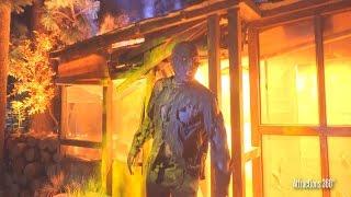 NEW! The Walking Dead Attraction FULL Walk-through - Universal Studios Hollywood