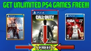 HOW TO GET UNLIMITED PS4 GAMES ( MARCH 2017)