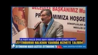Ak Parti Zeytinburnu MeclisÜyesi Adayı Mehmet Çakır Tanıtım Toplantısı