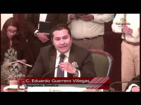 Cabildo H. Ayuntamiento de Tlalnepantla de Baz 13 marzo 2019