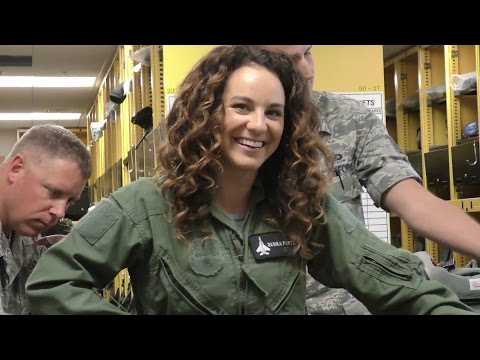 A Ride In The F-15 Fighter Jet!