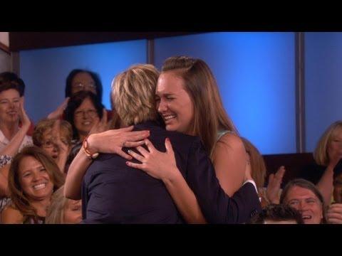 A Big Fan Meets Ellen