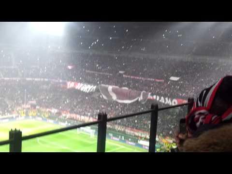 Annuncio Formazione e Coreografia Milan - Barcellona del 20-02-2013!!! SPETTACOLO!!!!!!!