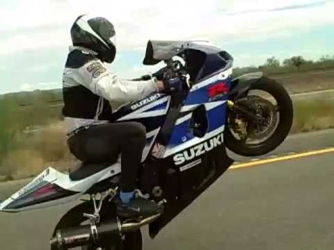 Gsxr 1000 Wheelies In Phx,Az