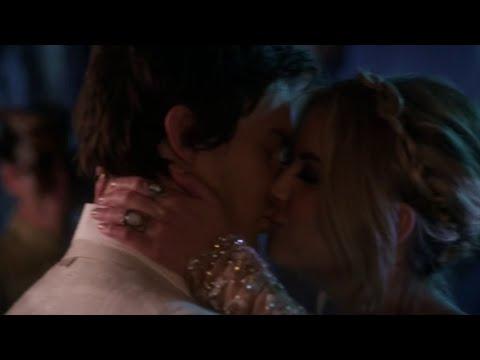 Pretty Little Liars 6x09 Hanna and Caleb Prom Kiss Scene