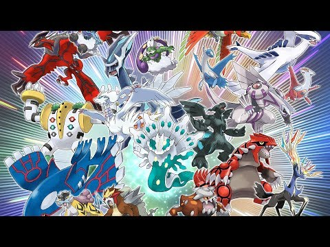 2018 Is the Year of Legendary Pokémon! (видео)