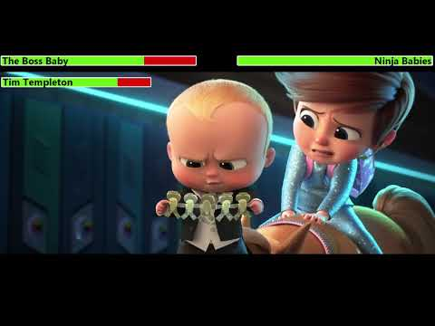 The Boss Baby: Family Business (2021) Trailer with healthbars