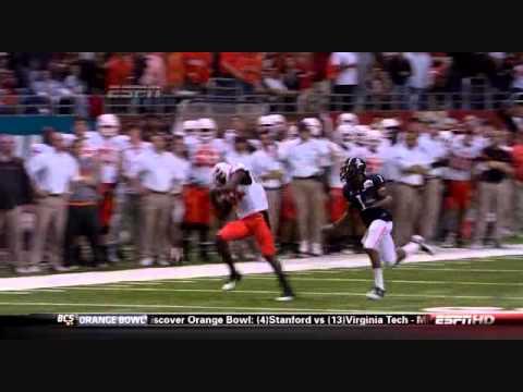 Justin Blackmon vs Arizona 2010 (Alamo Bowl) video.