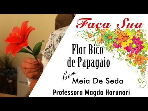 Flores Bico de Papagaio