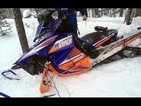 yamaha - Exclusive first ride footage, mid-January. The new 2015 Yamaha SR Viper MTX SE and MTX LE with the 180-HP optional dealer-installed turbo kit. See www.snowes...