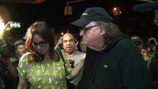 Michael Moore all'attacco, esce il film contro Trump