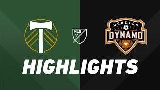 Portland Timbers vs. Houston Dynamo | HIGHLIGHTS - June 22, 2019 by Major League Soccer