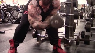 BIGGER BY THE DAY - DAY 2 - EAT BIG - KILLIN - CHEST & BI'S - 30 POUNDS