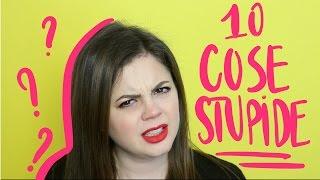 In questo video la mia TOP 10 delle stupidaggini che ti senti dire se ti sposi giovane: è stato difficile fare una selezione, e vi assicuro che mi sono state dette TUTTE. Se anche tu almeno una volta hai detto a qualcuno queste cose, non te la prendere...  ma la prossima volta evita di dirle 😜▷MUSICA BY EpidemicSound.com ▷ PER FILMARE USO:      ▹Reflex Canon 80D: http://amzn.to/2fxbH1x     ▹Canon M3 (per i vlog): http://amzn.to/2euJNyO     ▹ SONY 5100 (per i vlog) http://amzn.to/2nh7bUg     ▹Obiettivo  EF-S 18-125: http://amzn.to/2fxc24i     ▹Obiettivo  EF 50mm f/1.8: http://amzn.to/2f5M7O6     ▹Microfono per Iphone: http://amzn.to/2f5lKboIL MIO SITO WEB DI RECENSIONI: misscreamycreamy.comINSTAGRAM: instagram.com/misscreamycreamyFACEBOOK: http://www.facebook.com/pages/Miss-Creamy-Creamy-Channel/133312233410818 BLOG: http://misscreamycreamy.comTWITTER: https://twitter.com/MisCreamyCreamyEMAIL: misscreamycreamy@gmail.com