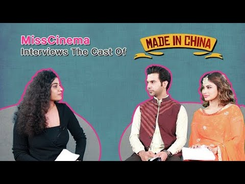 MissCinema   interview with RajKummar Rao and Mouni Roy   Made In China