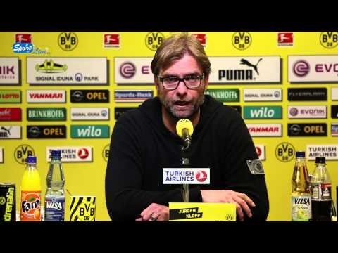 bvb - Dortmund, 02.05.2013: BVB-Cheftrainer Jrgen Klopp uert sich unter anderem zur derzeitigen Personalsituation bei Borussia Dortmund, zur Bundesligabegegnung...