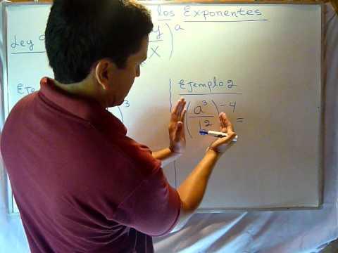 Vídeos Educativos.,Vídeos:Leyes de los exponentes