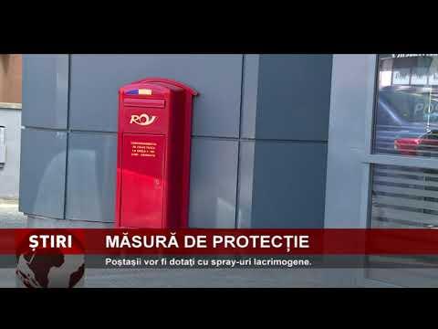 Poştaşii vor fi dotaţi cu spray-uri lacrimogene