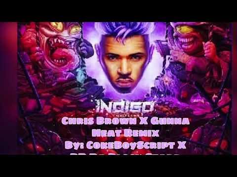 Chris Brown - Heat ( Audio ) ft. Gunna Official Remix